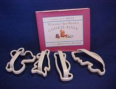 Pooh cookie cutters