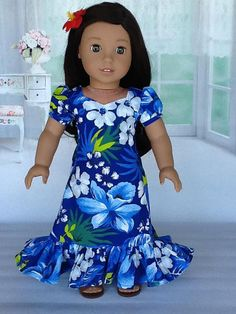 Doll dress for American Girl Doll and other 18 inch dolls.