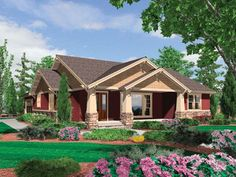 1000 Images About Craftsman Home Plans On Pinterest