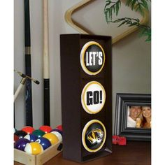 Ncaa - Missouri Tigers - Let's Go - Flashing Traffic Light, Multicolor