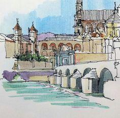Puente romano, Córdoba, España