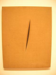 Spatial Concept, Luciano Fontana