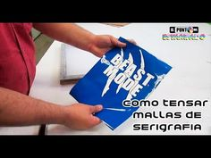 SERIGRAFIA CON VINILO SIN NECESIDAD DE EMULSION - TRANSFER DE PLASTISOL - YouTube