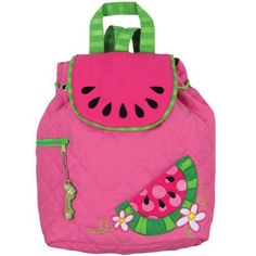 Stephen Joseph Watermelon Backpack Personalized by DBMEmbroidery, $23.99