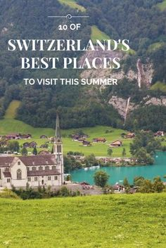 inspired and explore 10 of Switzerland's best places to visit this summer!Get inspired and explore 10 of Switzerland's best places to visit this summer! Switzerland Summer, Best Of Switzerland, Switzerland Vacation, Cool Places To Visit, Places To Travel, Places To Go, Zermatt, Switzerland Itinerary, Switzerland Destinations