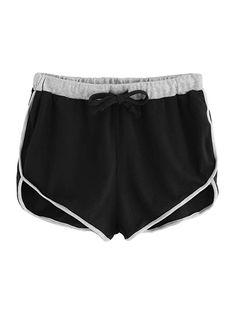 e45834d526 Amazon.com  SweatyRocks Women s Dolphin Running Workout Shorts Yoga Sport  Fitness Short Pant  Clothing