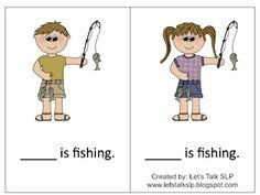 Let's Talk Speech-Language Pathology: Materials Monday - Pronoun Campers
