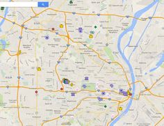 The Justice for Mike Brown Ferguson protest group released its list of potential targets following the decision by the St. Louis County Courthouse on the Mike Brown case. The published map shows expected landmarks like the Ferguson City Hall and…