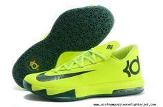 on sale 11686 d89fd Nike KD VI (6) Green Green For Wholesale Nike Kd Vi, Nike Kd