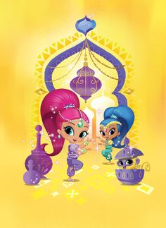 Boom Zahramay! Your best friends are on the way. Watch Shimmer and Shine on NickJr.com!