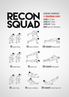 Recon Squad Workout