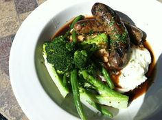 The Manchester Arms - College Park, GA, United States. Bangers an mash $13
