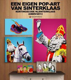 Een eigen pop-art. Made by Personal-art.nl Nu nog leuker met 10% korting