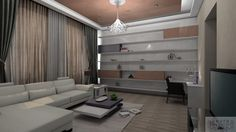 3D plan of Living room by Laura Design