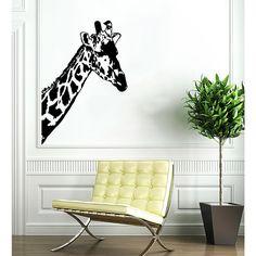 <li>Artist: Stickalz</li><li>Title: Giraffe Vinyl Sticker Wall Art</li><li>Type: Vinyl wall art</li>