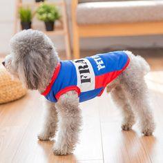 5d83c0f93 Besmall Dog Tshirt Costume Sport Jersey Pet National Flag Football Soccer  World Cup FIFA France XS