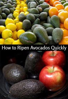 Avocados are best ripened at home so you can use them just as they become soft. It can be risky to buy ones that you think are already ready at the store for two reasons.