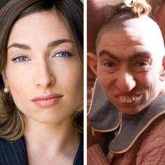 """- American Horror Story: Asylum character, THIS IS CHARACTER """"PEPPER"""", LOOK AT HOW MOVIE MAKE UP CAN CONSTRUCT INTERESTING CHARACTER LOOKS."""