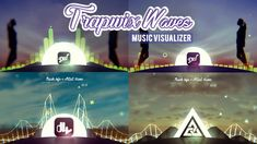 Music Visualizer After Effects Template | TrapWix Waves