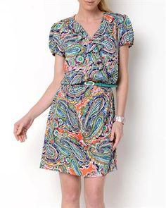 lovely lovely paisley prints! Shelby & Palmer Multicolor Printed Dress