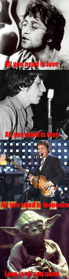 Beatles ft. Yoda