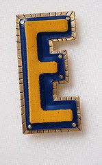 License Plate Pin- front  from landscape jewel