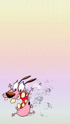 Wallpaper Cartoon | Courage the cowardly dog