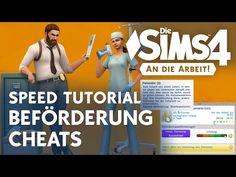 Die Sims 4 Tutorial: Beförderung Cheats (An die Arbeit) - YouTube