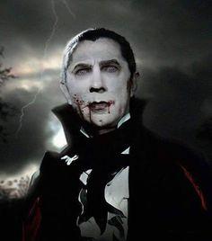 Dracula - Bela Lugosi - wonderfully photoshopped...