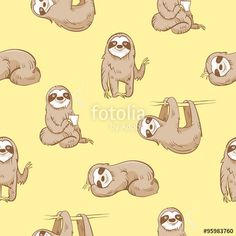 Image result for sloth drawing cute