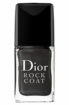 Fall MUST have - apply over any of your fav dark nail colors for a smoky fall & 'rock' look. No two nail colors look the same
