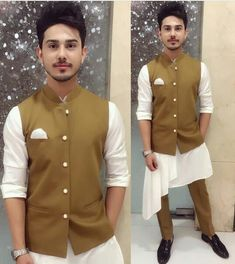 Sunny Chopra l . Mens Indian Wear, Mens Ethnic Wear, Indian Men Fashion, Mens Fashion Wear, Men's Fashion, Wedding Kurta For Men, Wedding Dresses Men Indian, Wedding Dress Men, Wedding Suits