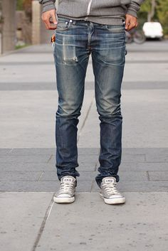 I love well worn denim.  Is there any fabric that wears this well?
