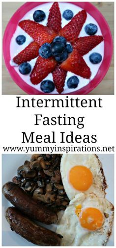 Intermittent Fasting Meals - my meal plan for weight loss success results with intermittent fasting using the 16/8 method.