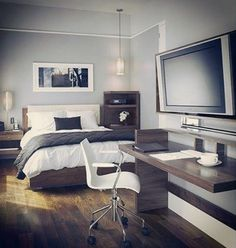 Charmant 80 Bachelor Pad Menu0027s Bedroom Ideas   Manly Interior Design