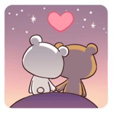 Funny relationship cartoons love is 58 ideas Cute Bear Drawings, Cute Couple Drawings, Love Cartoon Couple, Cute Love Cartoons, Cute Love Pictures, Cute Love Gif, Calin Gif, Doodles Bonitos, Art Kawaii