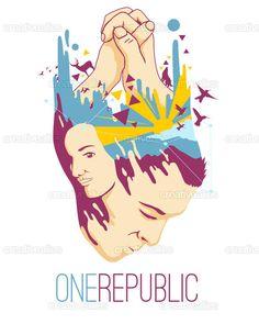 OneRepublic Poster by japdua on CreativeAllies.com