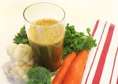 Cruciferous Carrot Juice | Reboot With Joe Cruciferous vegetables (broccoli, kale, cauliflower, brussels sprouts) are well known for being super-packed with nutrients, fiber and antioxidants.  INGREDIENTS: 8 carrots 1 pear 1 head of broccoli 1 head of cauliflower 5 kale (Tuscan cabbage) leaves 1/2 lime