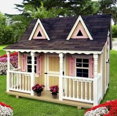 little girls playhouses | tree house or a playhouse – special place just for the little ones ...