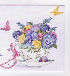 Cross Stitching, Cross Stitch Embroidery, Embroidery Patterns, Hand Embroidery, Cross Stitch Patterns, Cross Stitch Heart, Cross Stitch Flowers, Chicken Cross Stitch, Cross Stitch Kitchen