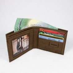 Men's Wallet made from Washable Kraft Paper by SIDONIEYANG. $65
