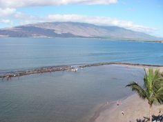 rooftop views from Menehune Shores condos in Kihei Maui HI 96753
