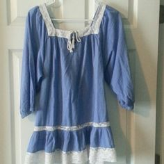 H&M Flutter Dress/top size 4/6 New without tags How bold are you?  SuPer flirty can be worn .as a short short dress or a top over leggings H&M Dresses Mini