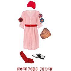 """Rockford Peach Costume"" by schaeffh on Polyvore"