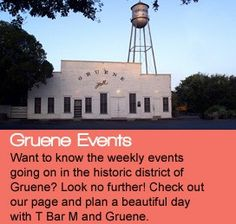 Gruene is the place to be this summer! T Bar M is the perfect place to stay while you shop, eat, drink, and dance in Gruene! www.tbarm.com