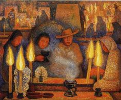 Diego Rivera, Day Of The Dead, 1944