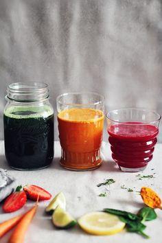 3 Restoring Spring Juices #detox #juice #spring