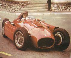 Juan Manuel Fangio su Ferrari D50 GP Monaco 1956