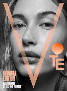 V Magazine, Magazine Covers, Damian Hurley, Fashion Cover, Vogue Japan, Img Models, Vogue Australia, Hailey Baldwin, Covergirl