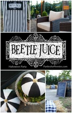 Beetlejuice Halloween Party - Parties for PenniesParties for Pennies